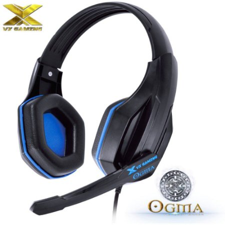 Headset Gamer VX GAMING OGMA Azul Fone de Ouvido