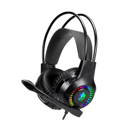 Headset Gamer EVOLUT APOLO EG-304 RGB Fone de Ouvido