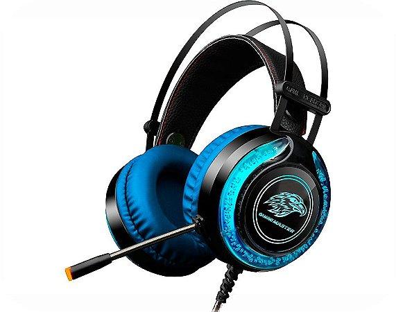 Headset Gamer KMEX RGB ARS9 Gaming Master Fone de Ouvido
