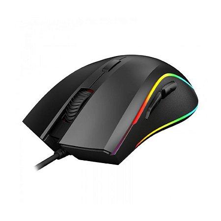 Mouse Gamer PHILIPS Momentum RGB 4000 DPI 7 Botões PRO