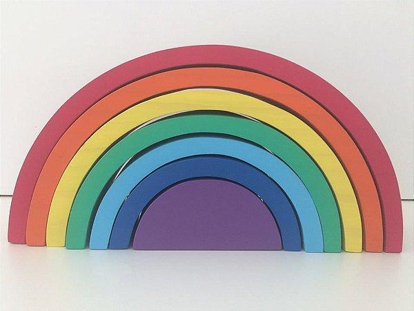 Arco-íris Waldorf 7 peças colorido