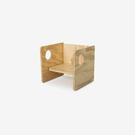 Cadeira Cubo - 1 unidade