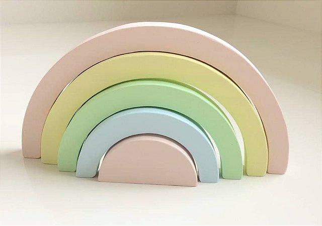 Arco-íris 5 peças