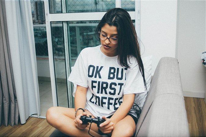 Brusinha Ok but first coffee