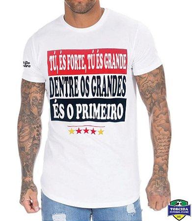 Camiseta Masculina Hino do São Paulo FC