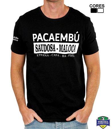 Camiseta Masculina Pacaembú Saudosa Maloca Torcida Alvinegra