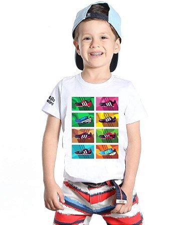 "Camiseta infantil - ""Chuteiras"""
