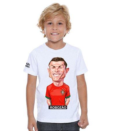 Camiseta Infantil  Charge Cristiano Ronaldo
