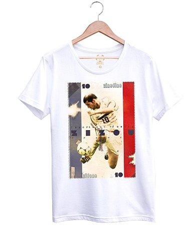 Camiseta Masculina Craques Eternos Estilo Boleiro