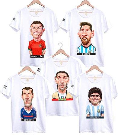 Camiseta Boleiros Eternos - Caricaturas Engraçadas