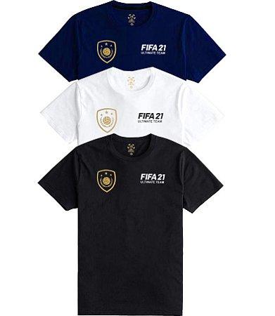Camiseta Fifa 21 ULTIMATE TEAM várias cores