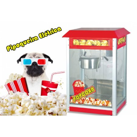 máquina Pipoqueira Elétrica  Vintage cinema RJ
