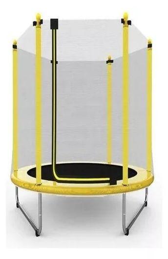 Cama Elástica 1,40m Amarela
