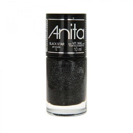 Esmalte perolado Black Stars Anita 10ml