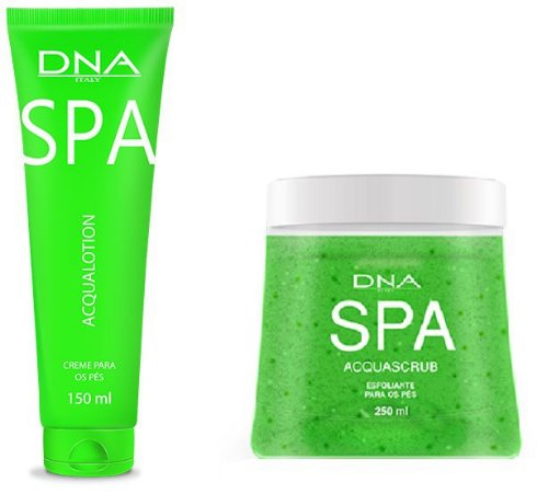 Kit SPA para os pés DNA Italy