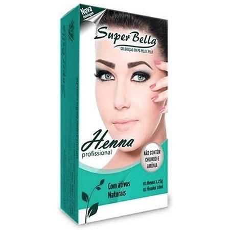 SUPER BELLA KIT HENNA LOURO MEDIO 1,25GR
