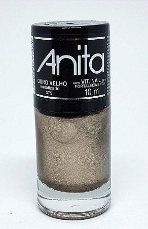 Esmalte Metalizado Anita Ouro Velho 10ml