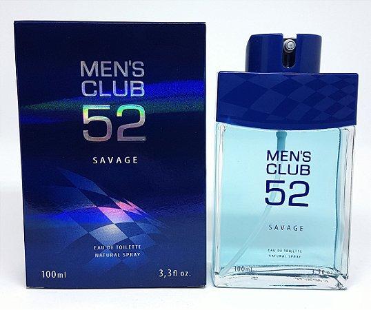 Perfume Masculino Men's Club 52 Savage 100ML