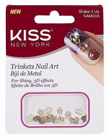 Biju de Metal Kiss para Nail Art  NAMC03 Shake It Up