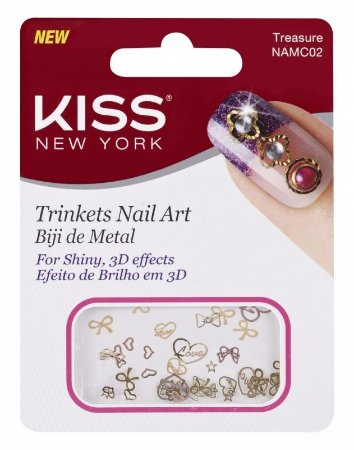 Biju de Metal para Nail Art Kiss NAMC02 Treasure