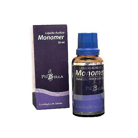 Líquido Monomer Piu Bella 30 ml