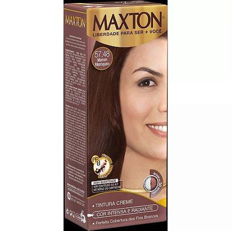Tintura Embelleze Maxton 57.48 Marrom Marroquino