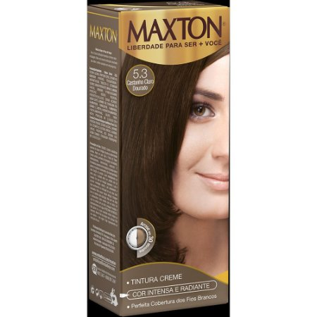 Tintura Embelleze Maxton 5.3 Castanho Claro Dourado