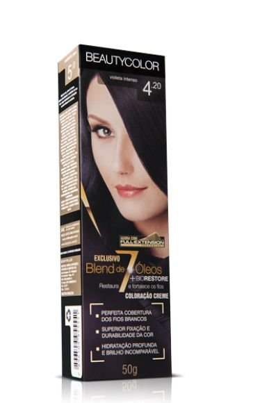 Tintura Individual Beauty Color 4.20 Violeta Intenso