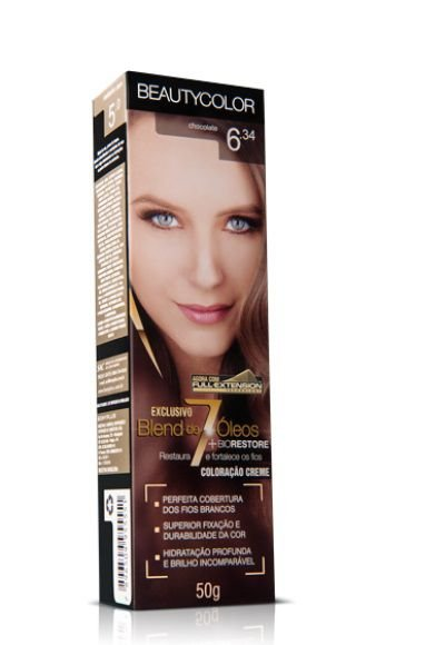 Tintura Individual Beauty Color 6.34 Chocolate