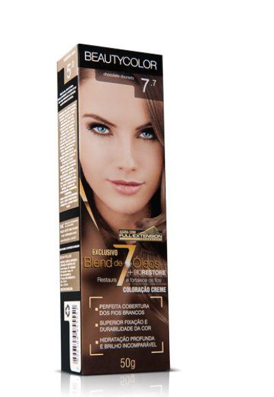 Tintura Iindividual Beauty Color 7.7 - Chocolate Dourado