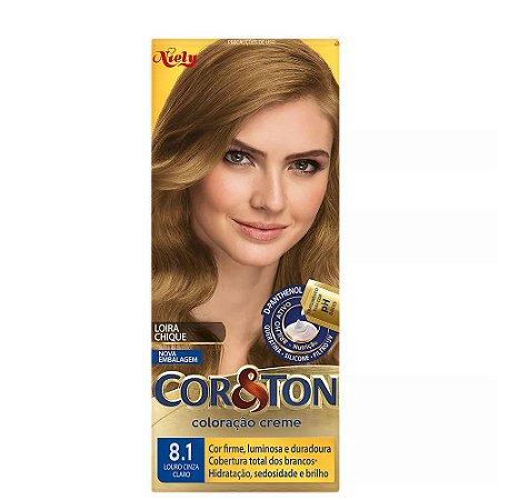Tintura Cor&Ton 8.1 Louro cinza Claro