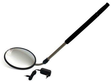 Espelho de Inspeção Veicular com iluminação LED