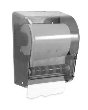 Suporte para papel bobina em acrílico com alavanca