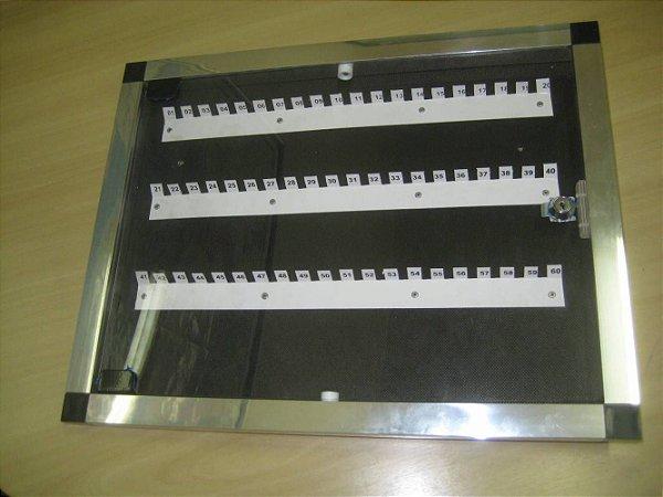 Quadro de Chaves Moldura em Alumínio