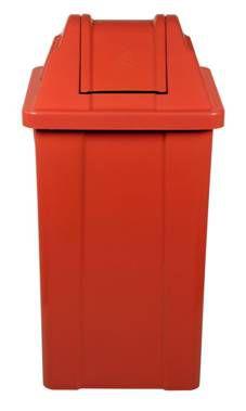Cesto de lixo Plástico com tampa Vai-vem