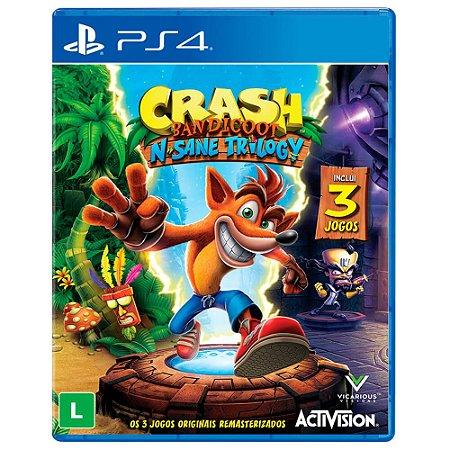 Jogo Crash Bandicoot N. Sane Trilogy - PS4