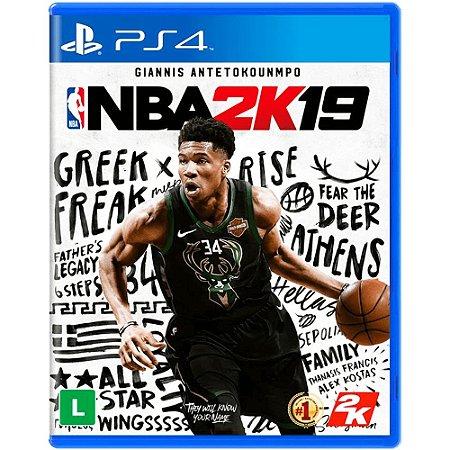 Jogo NBA 2K19 - PS4