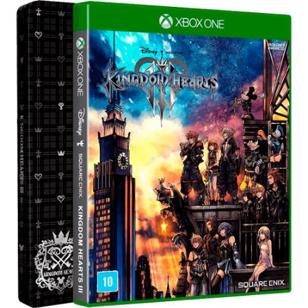 Jogo Kingdom Hearts III (Steelbook Edition) - Xbox One