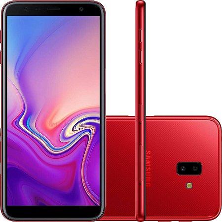 Celular Samsung Galaxy J6+ 32GB - Vermelho