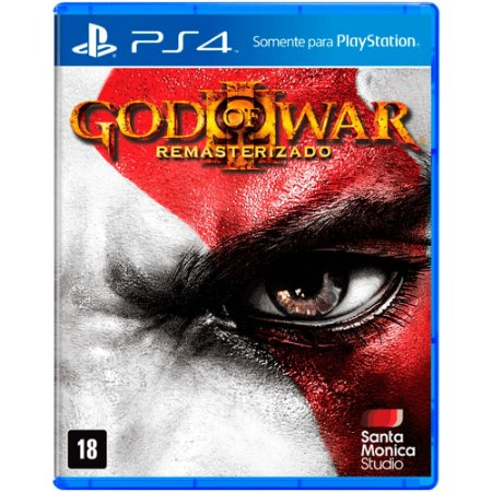 Jogo God of War 3: Remasterizado - PS4
