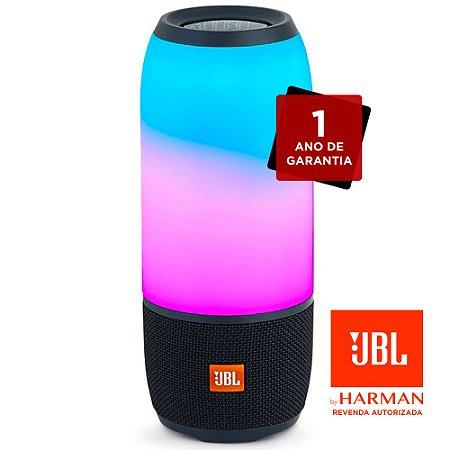 Caixa de Som Bluetooth JBL Pulse 3 - Preto