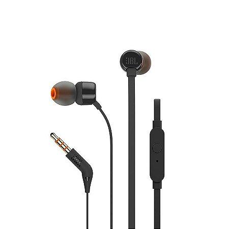 Fone de ouvido JBL T110 - Preto