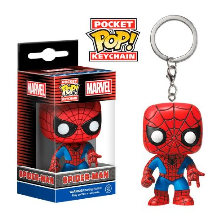 Chaveiro Pop! Keychain: Spider-Man