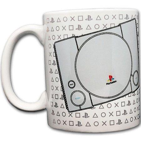 Caneca PlayStation - PS1 Play Symbols