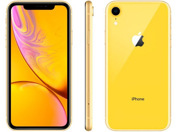 iPhone XR 64GB - Amarelo