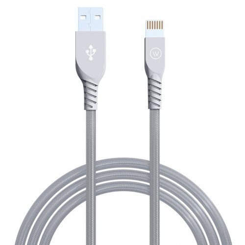 Cabo USB Lightning MFI 1,2m iPhone/iPad Cinza - iWill