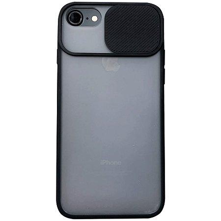 Capinha Com Proteção na Câmera - iPhone 6/6S/7/8 - Preto