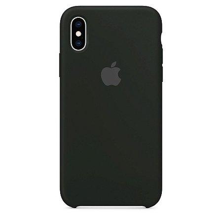 Capinha Silicone - iPhone XS Max - Várias Cores