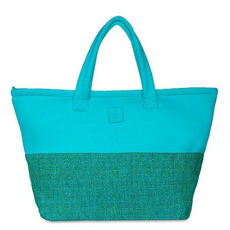 Bolsa Wahine de Tecido PJ4389 Lycra/Glitch Verde/Verde