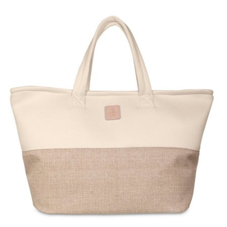 Bolsa Wahine PJ4389 Lycra/Glitch Bege/Bege